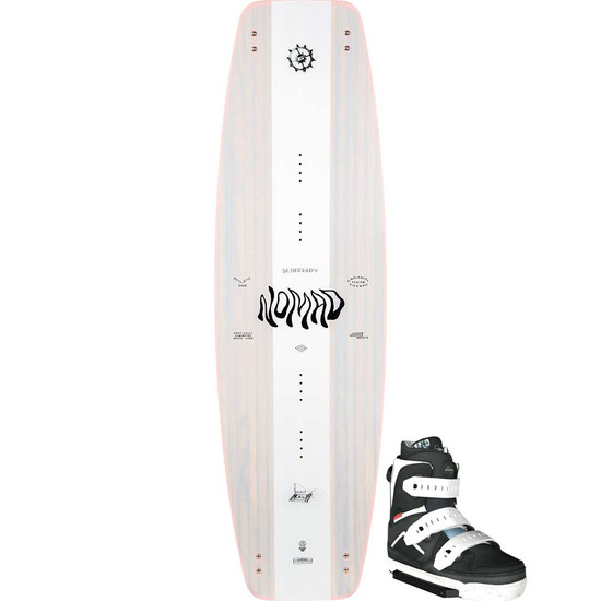 Slingshot Nomad Wakeboard Package W/ Space Mob Boots - 2021