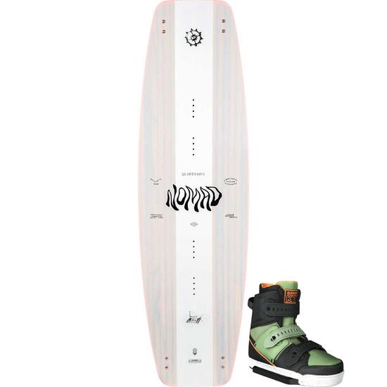 Slingshot Nomad Wakeboard Package W/ KTV Boots - 2021