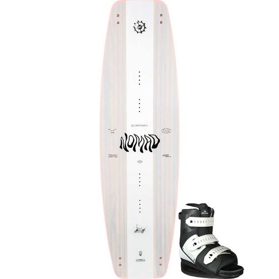 Slingshot Nomad Wakeboard Package W/ Option Boots - 2021