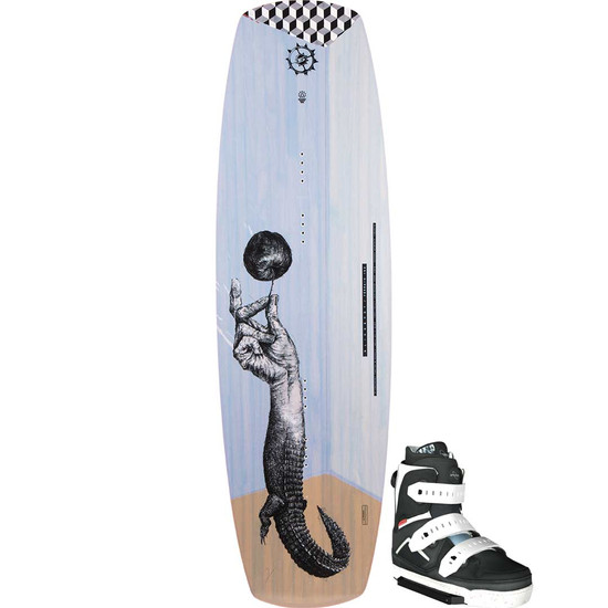 Slingshot Terrain Wakeboard Package W/ Space Mob Boots - 2021