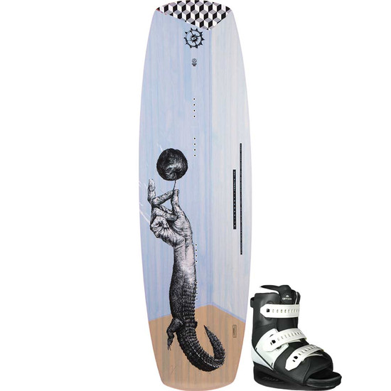 Slingshot Terrain Wakeboard Package W/ Option Boots - 2021
