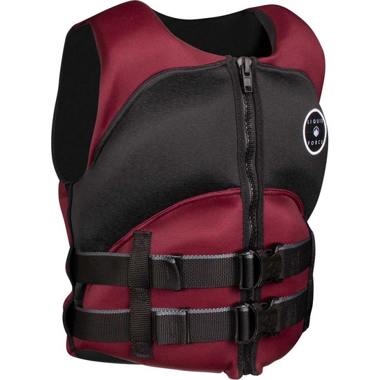 Liquid Force Heartbreaker Women's Life Jacket - Maroon
