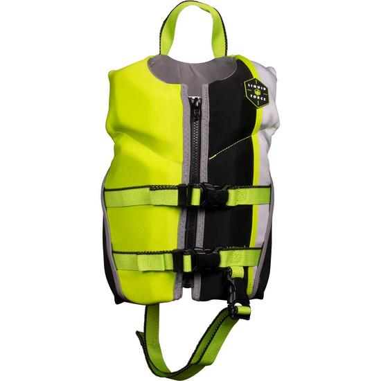 Liquid Force Fury Child Life Jacket - Black/Green