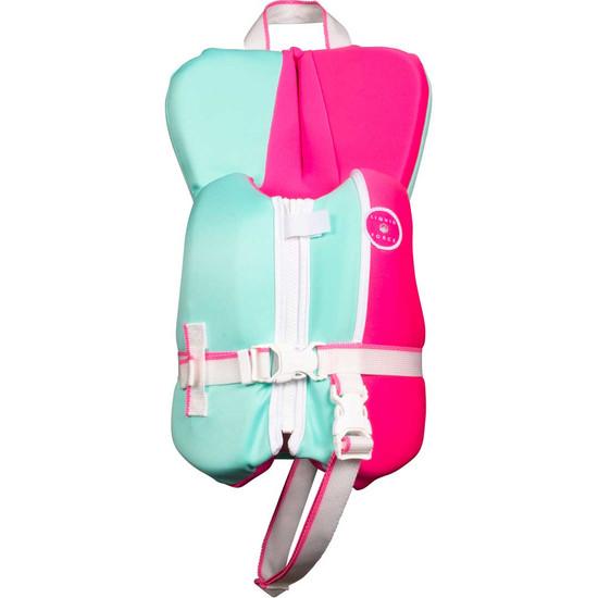 Liquid Force Dream Infant Life Jacket - Pink/Mint - 2021