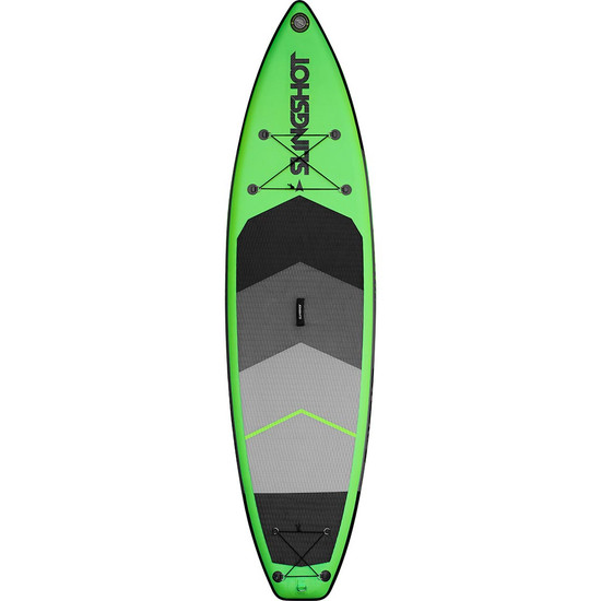 Slingshot Crossbreed Inflatable SUP - 11' Green