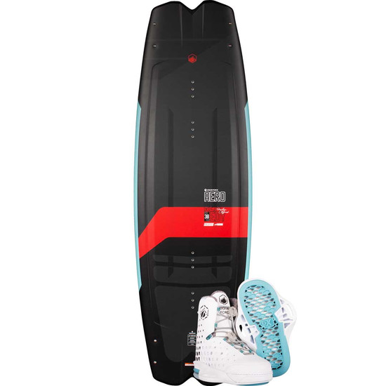 Liquid Force Remedy Aero Wakeboard Package W/ Aero 6X Boots - 2021