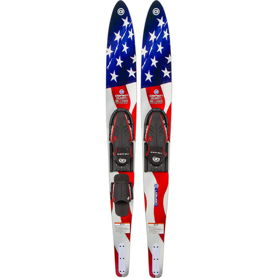 "O'brien Celebrity Combo Water Skis - 68"" Flag"