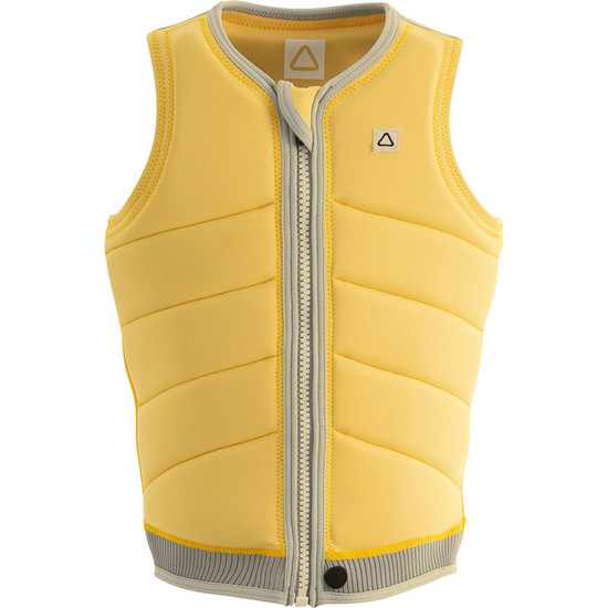 Follow Primary Ladies Comp Vest - Lemon Front