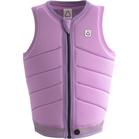 Follow Primary Ladies Comp Vest - Orchid Front