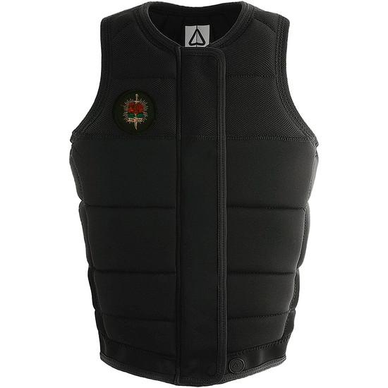 Follow Pharaoh Ladies Comp Vest - Black Front