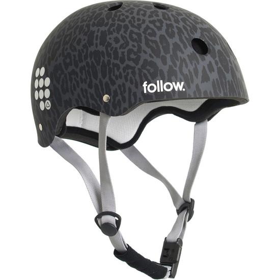 Follow Pro Wakeboard Helmet - Leopard