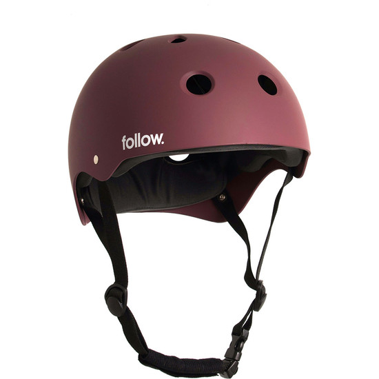 Follow Safety First Wakeboard Helmet - Burnt Red