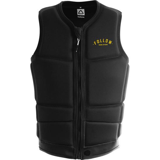Follow Division Men's Comp Vest - Black Front