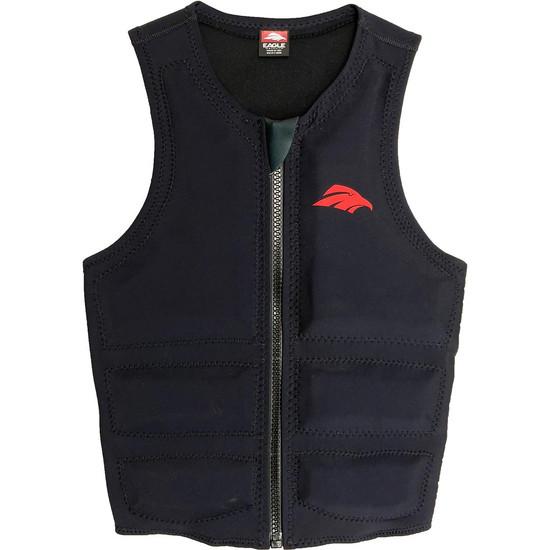 Eagle One Men's Water Ski Comp Vest - Black - Front