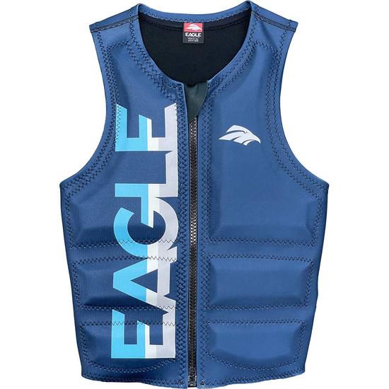 Eagle Logo Men's Water Ski Comp Vest - Navy Front