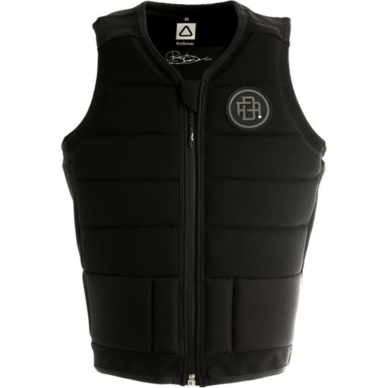Follow RD Comp Vest - Black - Front
