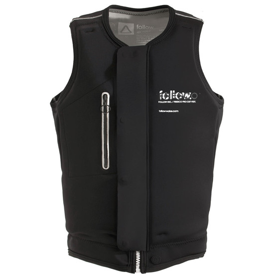 Follow Fresco Men's Comp Vest - Black Front