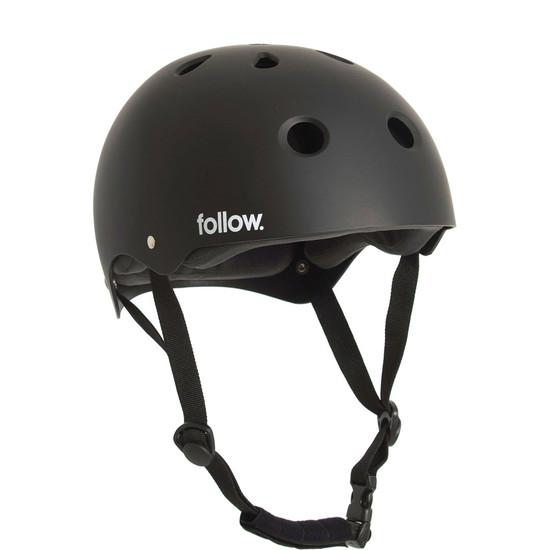 Follow Safety First Wakeboard Helmet - Black