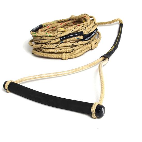 """Follow Origins Pro 12"""" Water Ski Rope & Handle Package"""