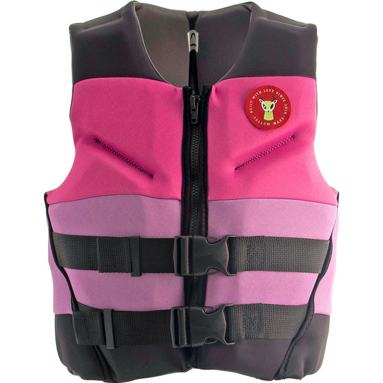 Follow POP Youth Life Jacket - Pink