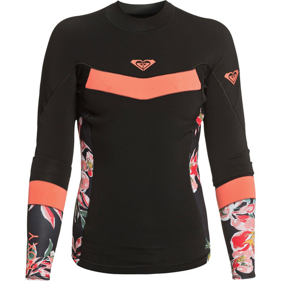 Roxy 1mm Syncro Women's Wetsuit Jacket - Coral