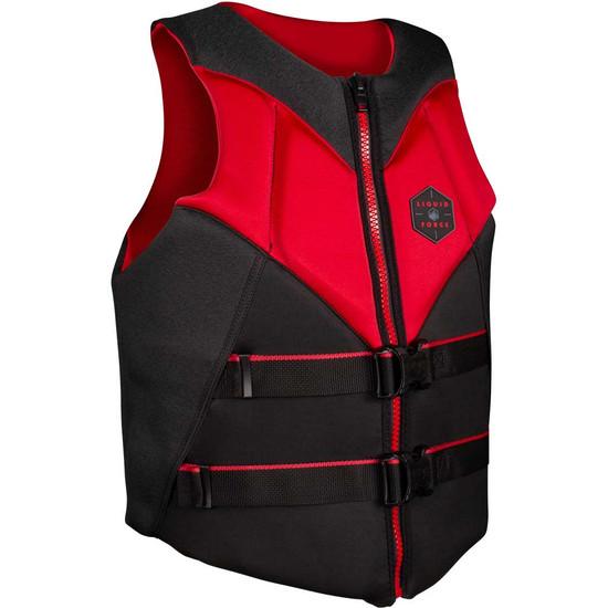 Liquid Force Rush Life Jacket - Black/Red