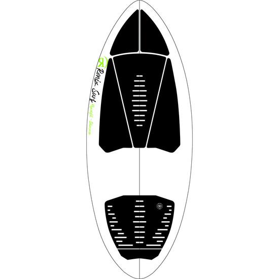 Ronix Flyweight Skimmer Wakesurf Board - Top