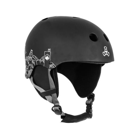 Liquid Force Flash Wakeboard Helmet - Black