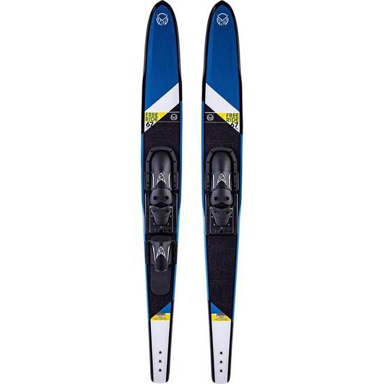 """HO Freeride Combo Water Skis - 67"""" - 2022"""