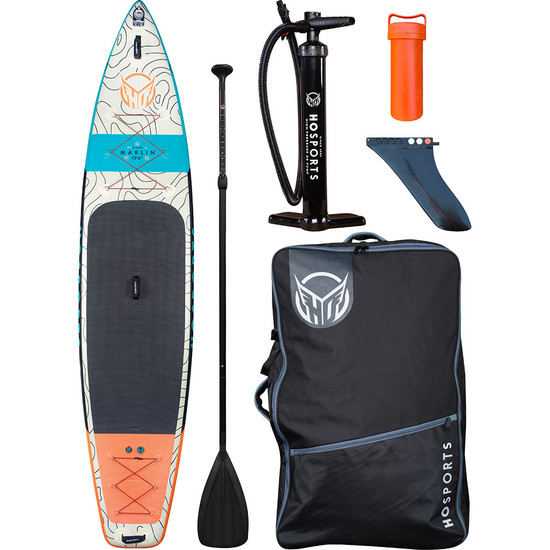 HO Marlin iSUP Inflatable Paddleboard - Package