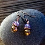 Lazy Lavender Earrings