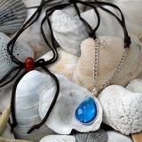 Blue Quartz Free Spirit Necklace