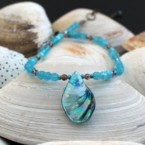 Aqua Ocean Necklace