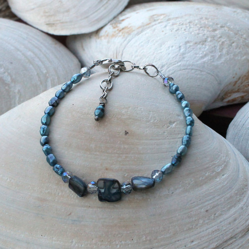 Shells and Pearls Bracelet