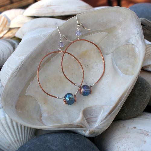 Lavender Fields Earrings