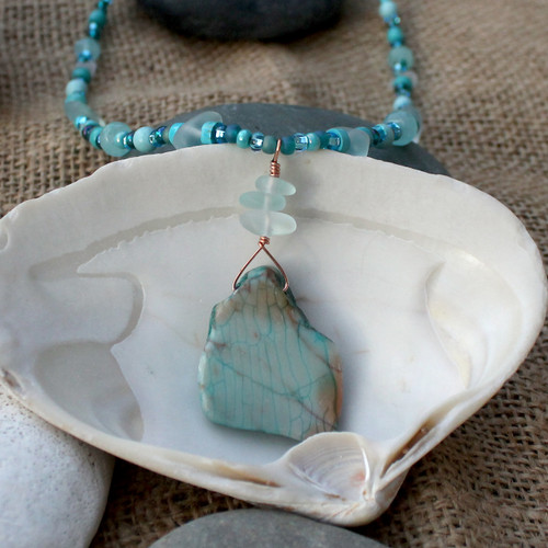 Basking In The Sun Necklace