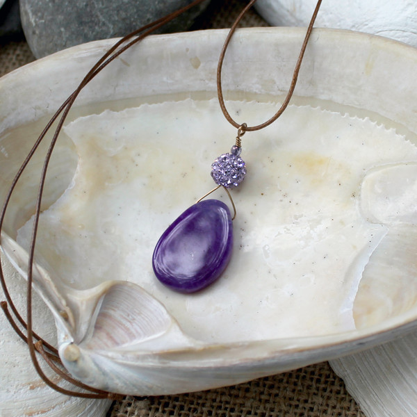 Deep Purple Necklace