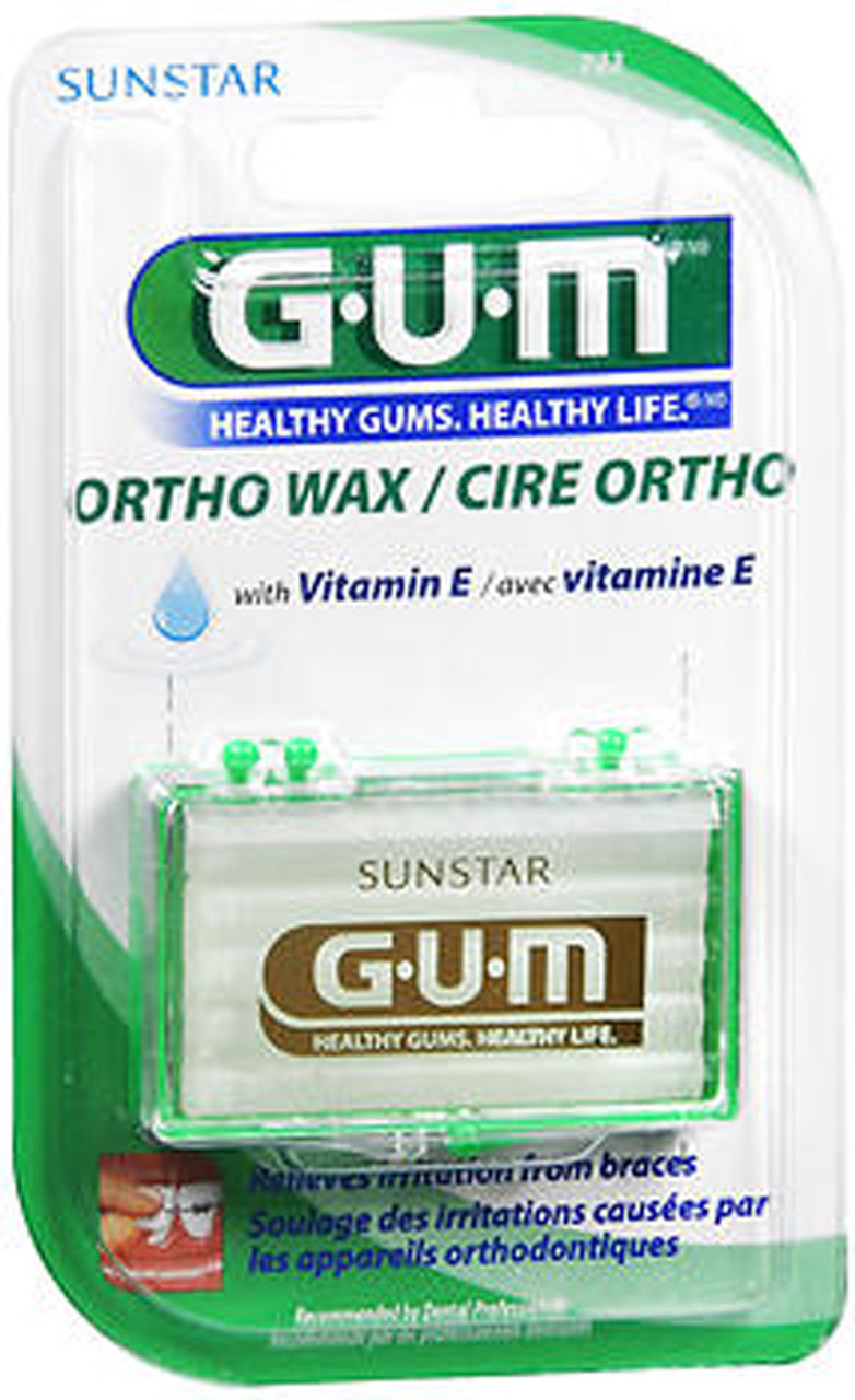 GUM Orthodontic Wax with Vitamin E - Each - The Online ...