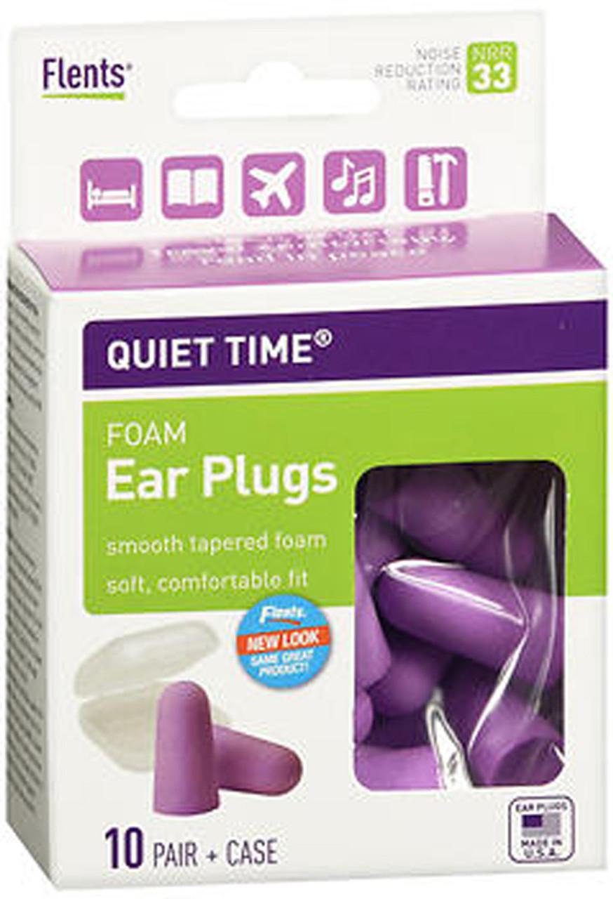 Flents Quiet Please Foam Ear Plugs 6 Pairs Each