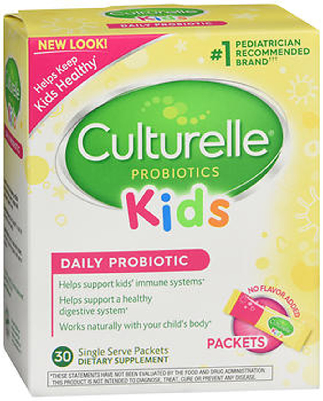 Culturelle Kids Probiotic Powder Packets 30 Ct The Online