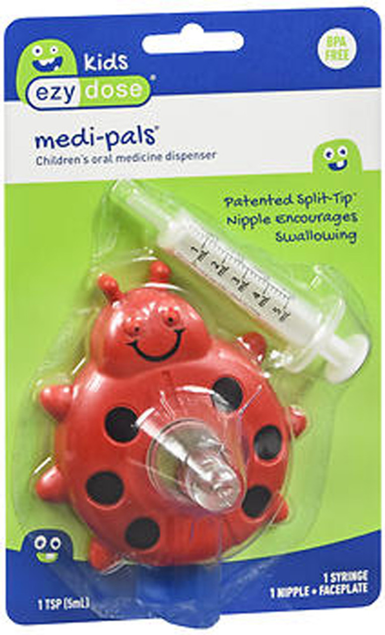 Ezy Dose Medi Pals Children S Oral Medicine Dispenser 1 Each The Online Drugstore C