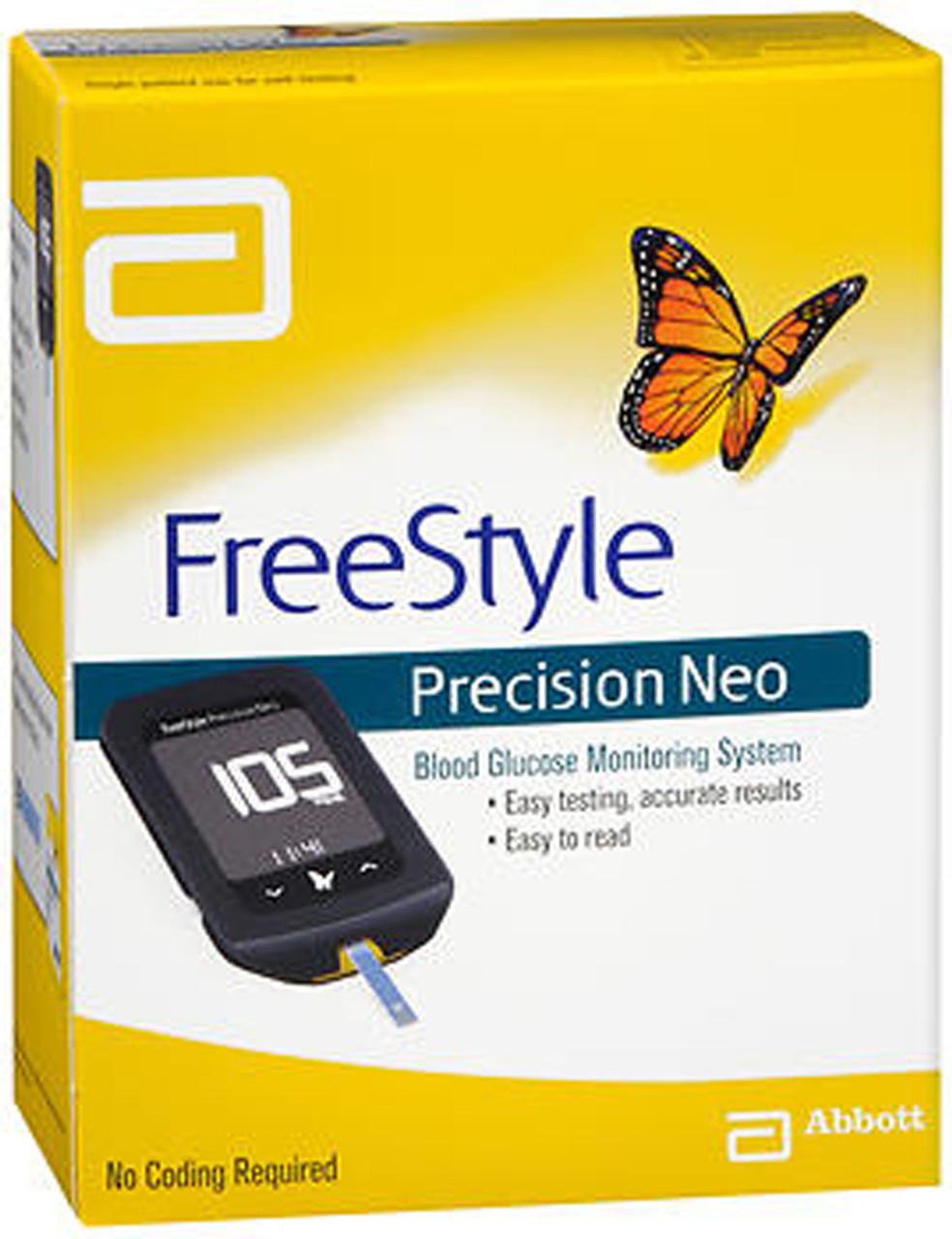 Abbott Freedom Lite freestyle precision neo blood glucose monitoring system