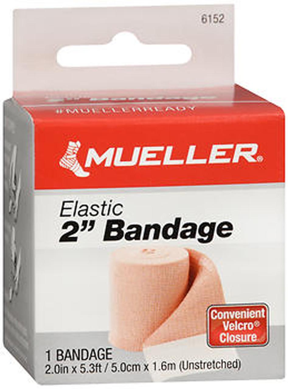 Mueller Elastic Bandage 2 Inch Width 6152 5 3ft Each The