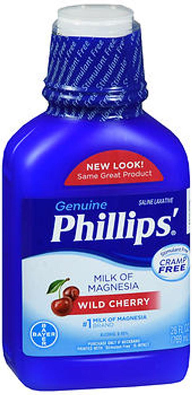 Phillips Milk of Magnesia Wild Cherry - 26 oz - The