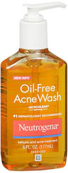 Neutrogena Oil-Free Acne Wash  6 oz