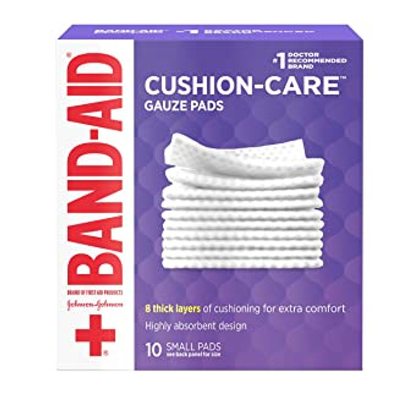 Band-Aid Gauze Pads Small - 10 ct