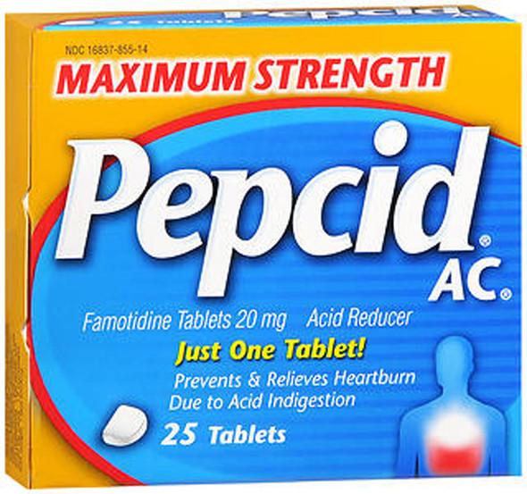 Pepcid AC Tablets Maximum Strength - 25 ct
