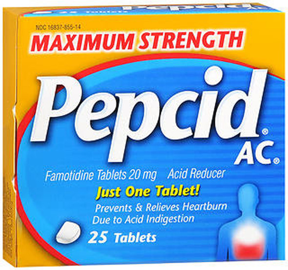 Pepcid AC Tablets Maximum Strength - 25 ct