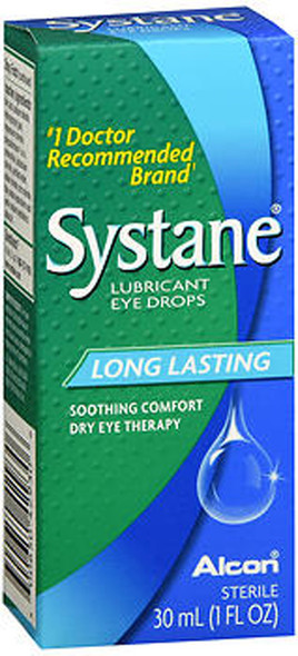 Systane Lubricant Eye Drops, Long Lasting - 1 fl oz