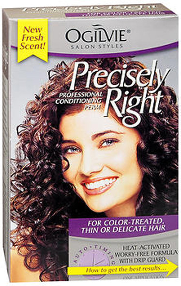 Ogilvie Precisely Right Perm Color-Treated Thin or Delicate Hair